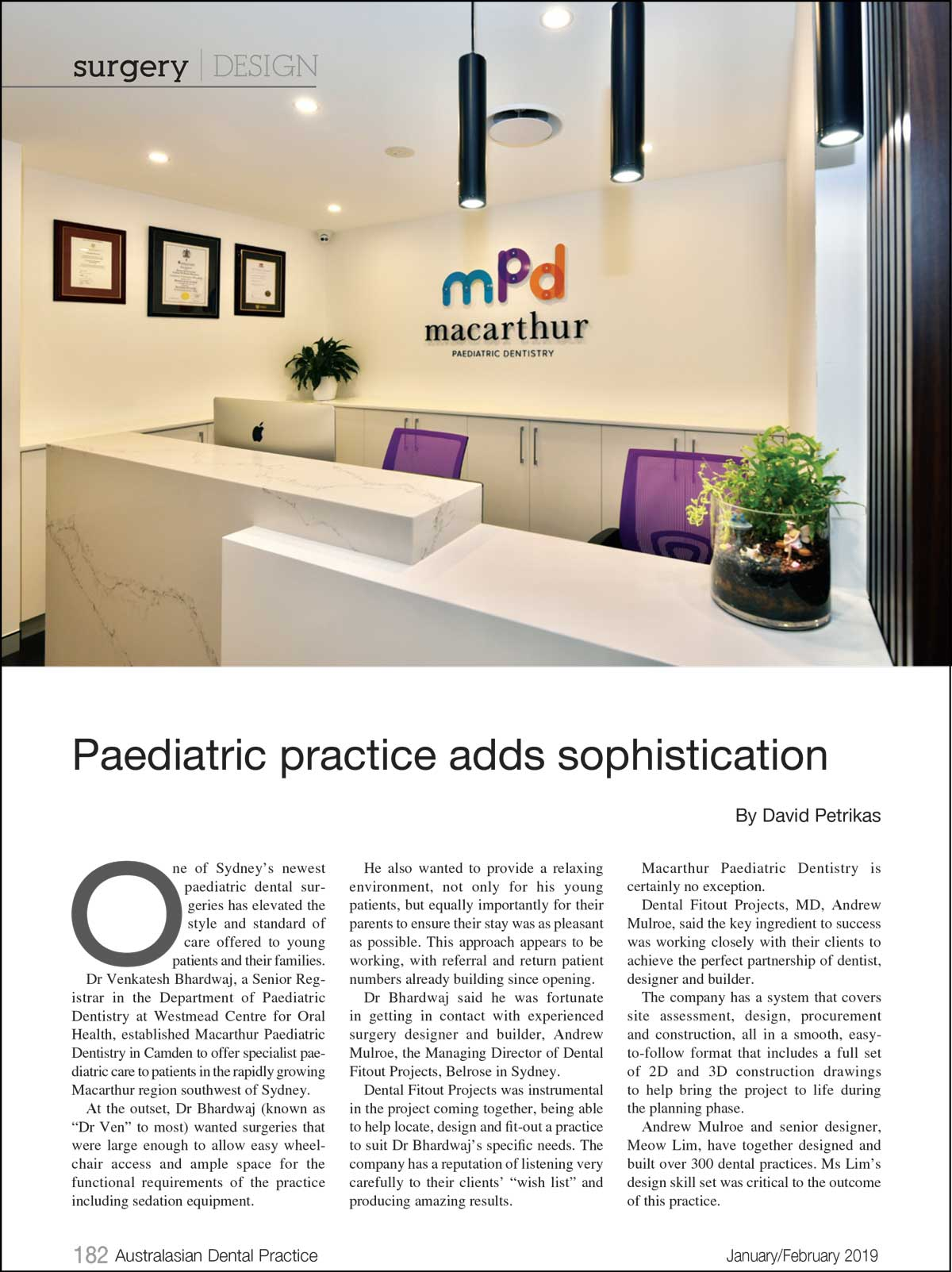 Case Study: Macarthur Paediatric Dentistry
