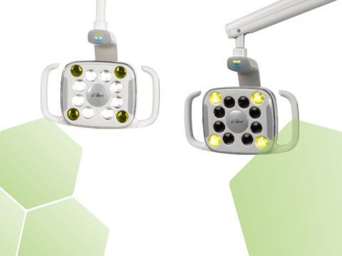 Adec dental lights